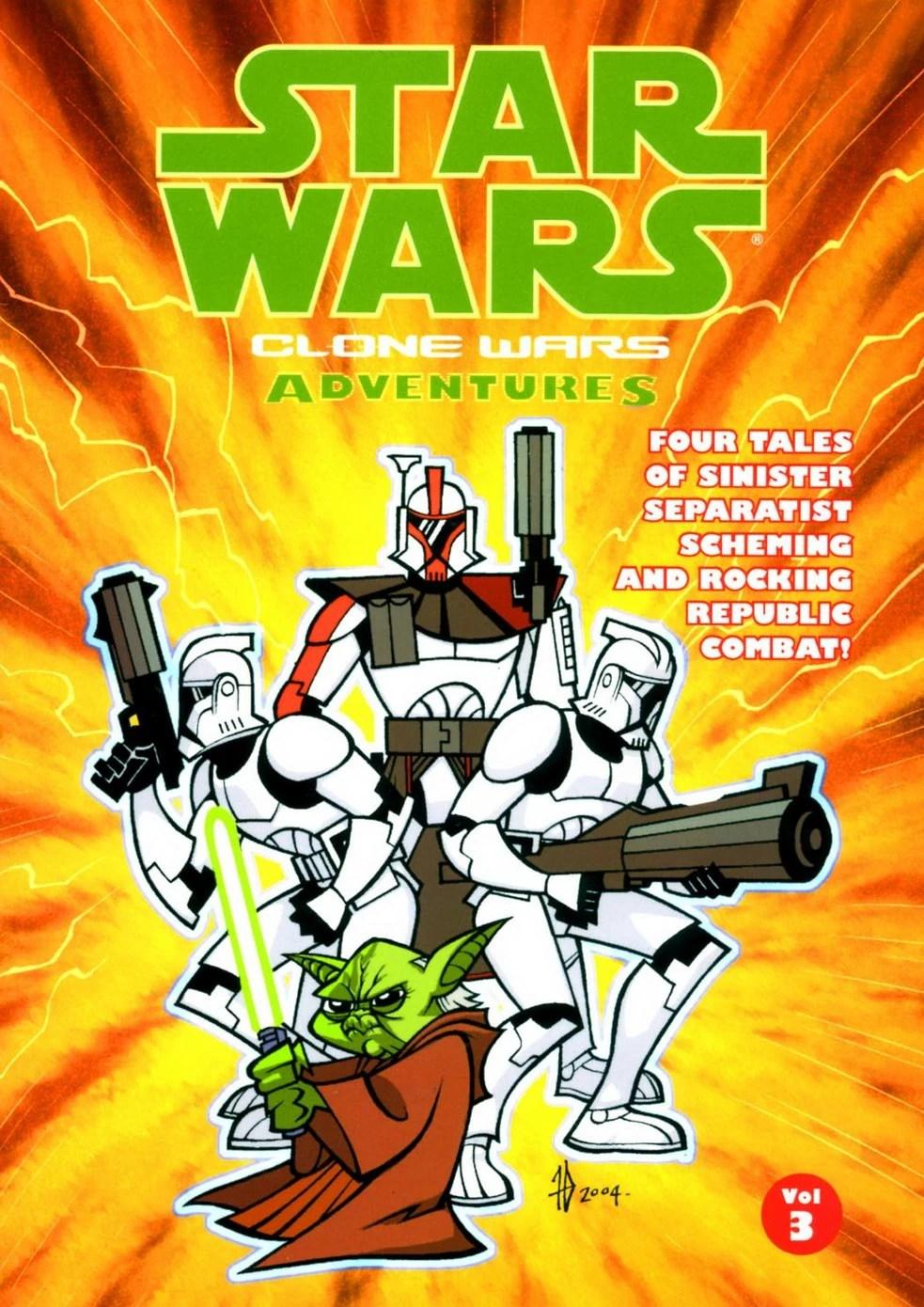 Star Wars Clone Wars Adventures Volume 3 - Wookieepedia