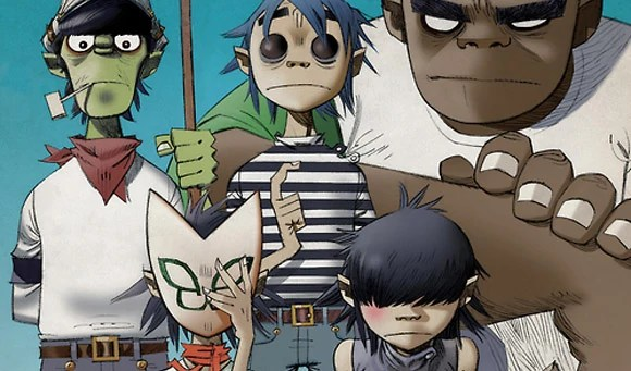 Gorillaz The Fall Wallpaper Backstory Gorillaz Wiki