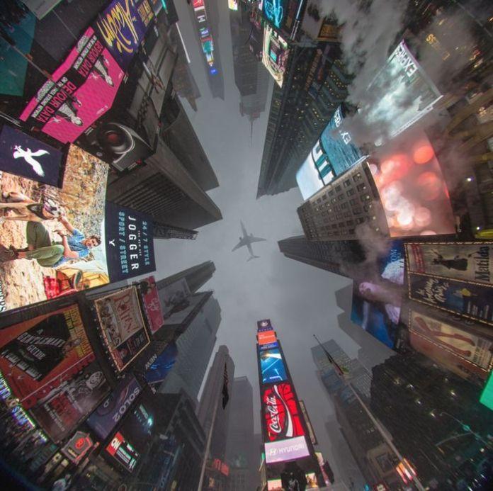 Một góc nhìn không thể nào đẹp hơn từ Quảng trường Thời đại,New York, Mỹ.