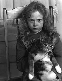 Carrie LeeAnn with Cat