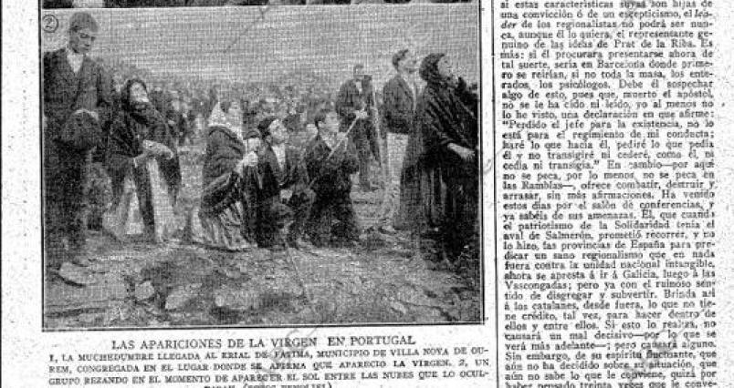 Periódico del 19 de octubre de 1917