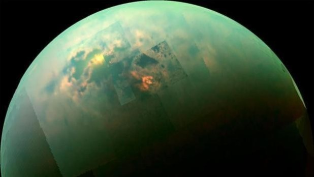 Mapa global de Titán