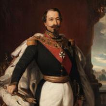 Retrato de Napoleón III por Franz Xaver Winterhalter