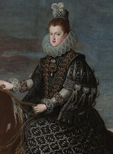 Margarita de Austria luce la perla conocida como La Peregrina y El Estanque