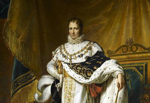 José Bonaparte como Rey de España, por François Gérard