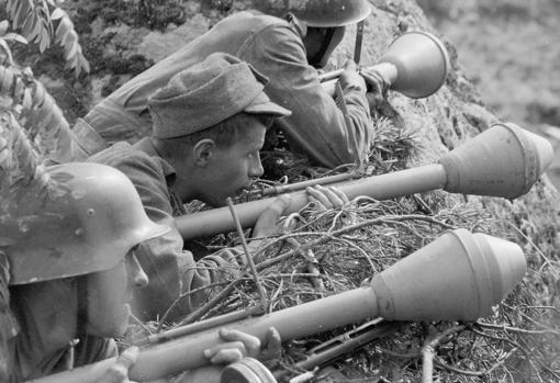 Los alemanes entregaron Panzerfaust a niños durante los últimos días de la Segunda Guerra Mundial