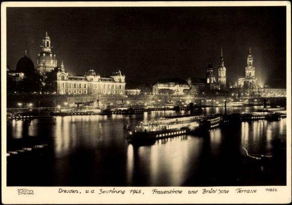 Ansichtskarte  Postkarte Dresden Frauenkirche vor 1945  akpoolde