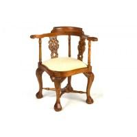 Victorian Corner Chair with Cream Pad