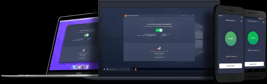 Avast 시큐어라인   VPN으로 온라인 활동을 보호