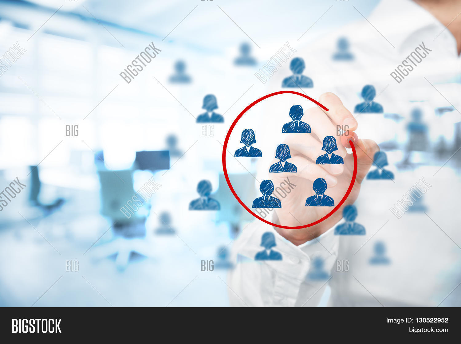 Marketing Segmentation Management Image & Photo | Bigstock