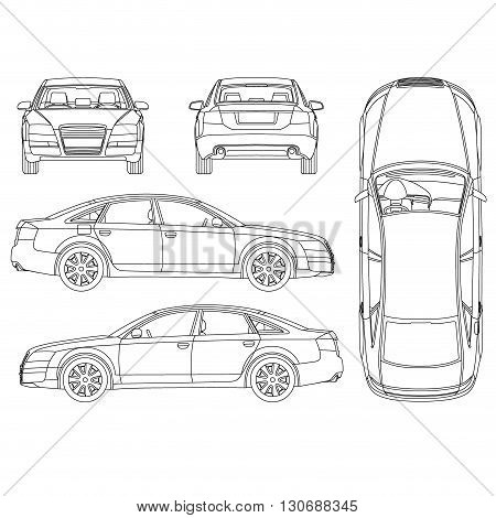 commuter van damage inspection diagram frigidaire gallery refrigerator parts vehicle free engine sketch coloring page view larger image