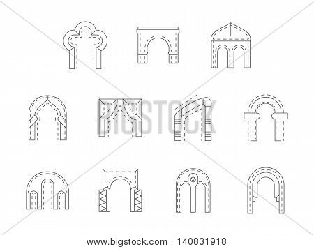 Arch types architecture