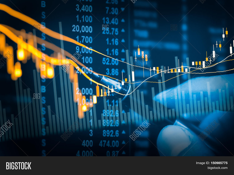 financial stock market image