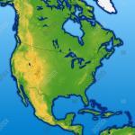 North America Map Image Photo Free Trial Bigstock