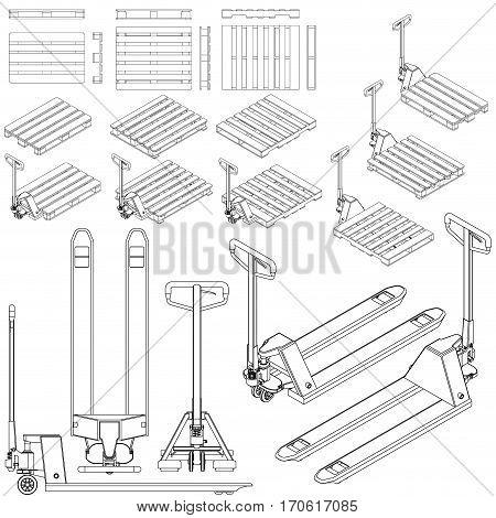 Manual Handling Lifting Images, Illustrations & Vectors
