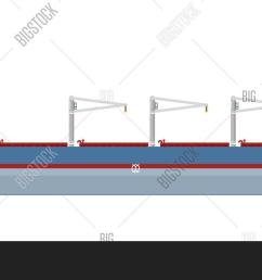 cargo ship with cranes isolated on white background illustration freight tanker side view commerci [ 1500 x 864 Pixel ]