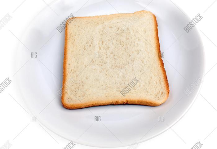 Sliced White Bread Image Photo Free Trial Bigstock