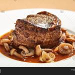 Filet Mignon Served Image Photo Free Trial Bigstock