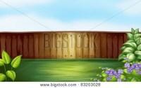 Wooden Fence Garden Images, Illustrations, Vectors ...