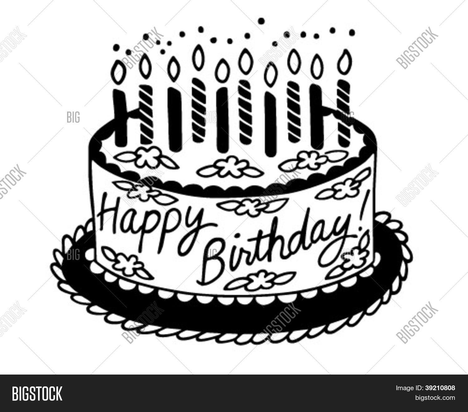 Happy Birthday Cake Vector Amp Photo Free Trial