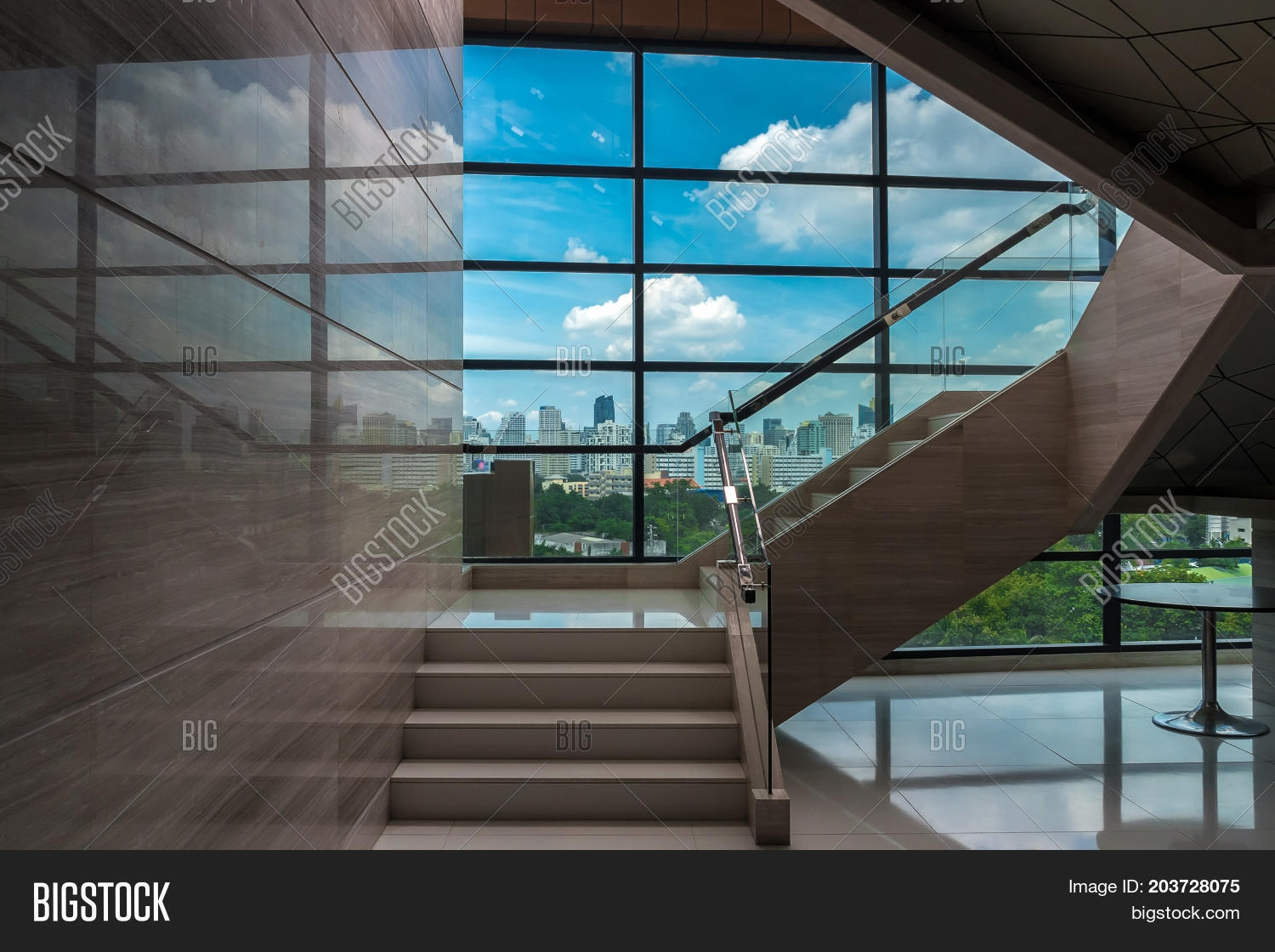 Luxury Staircase Image Photo Free Trial Bigstock | Window Design For Stairs | Exterior | Kitchen Color Combination | Home Wooden Staircase | Residential | Two Story Staircase