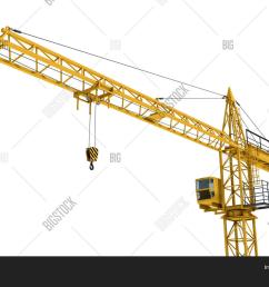 3d rendering of a yellow construction crane isolated on a white background construction tower [ 1500 x 1120 Pixel ]