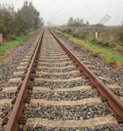 rusty single track image photo free trial bigstock single track wiring model train [ 1001 x 1620 Pixel ]