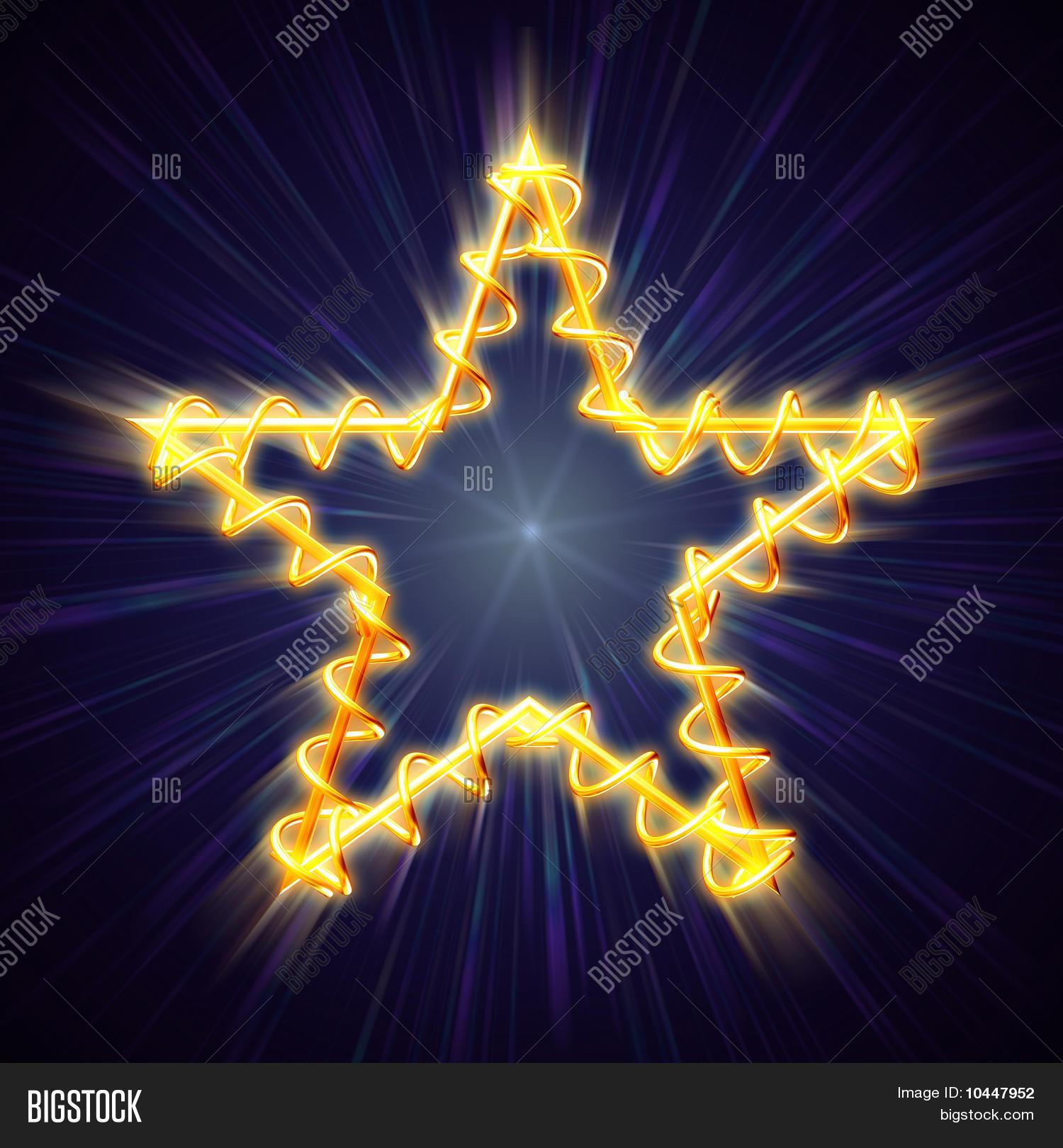 Big Christmas Star Light
