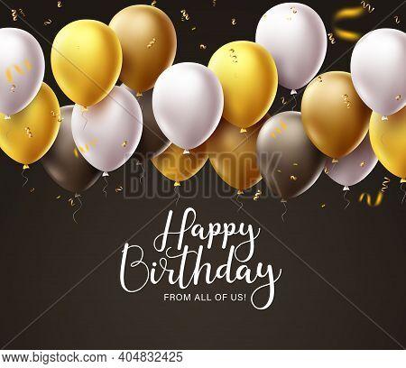 birthday balloons vector photo free