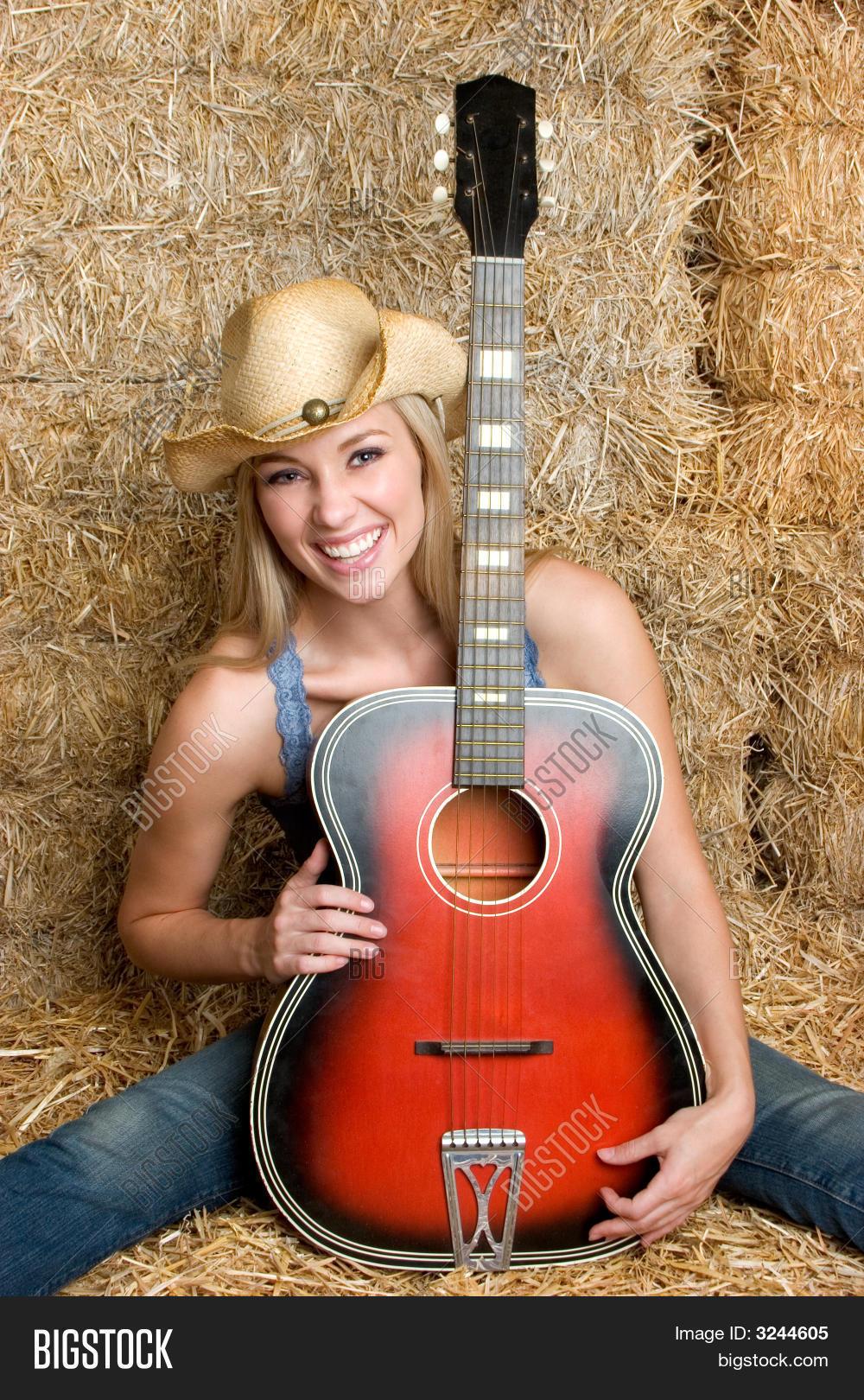 country girl guitar image