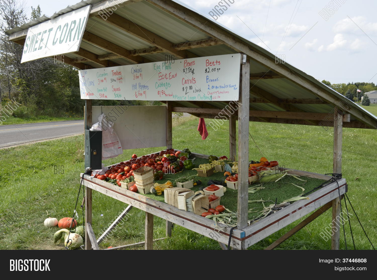 Vegetable Stand Designs : Roadside produce stand plans year of clean water