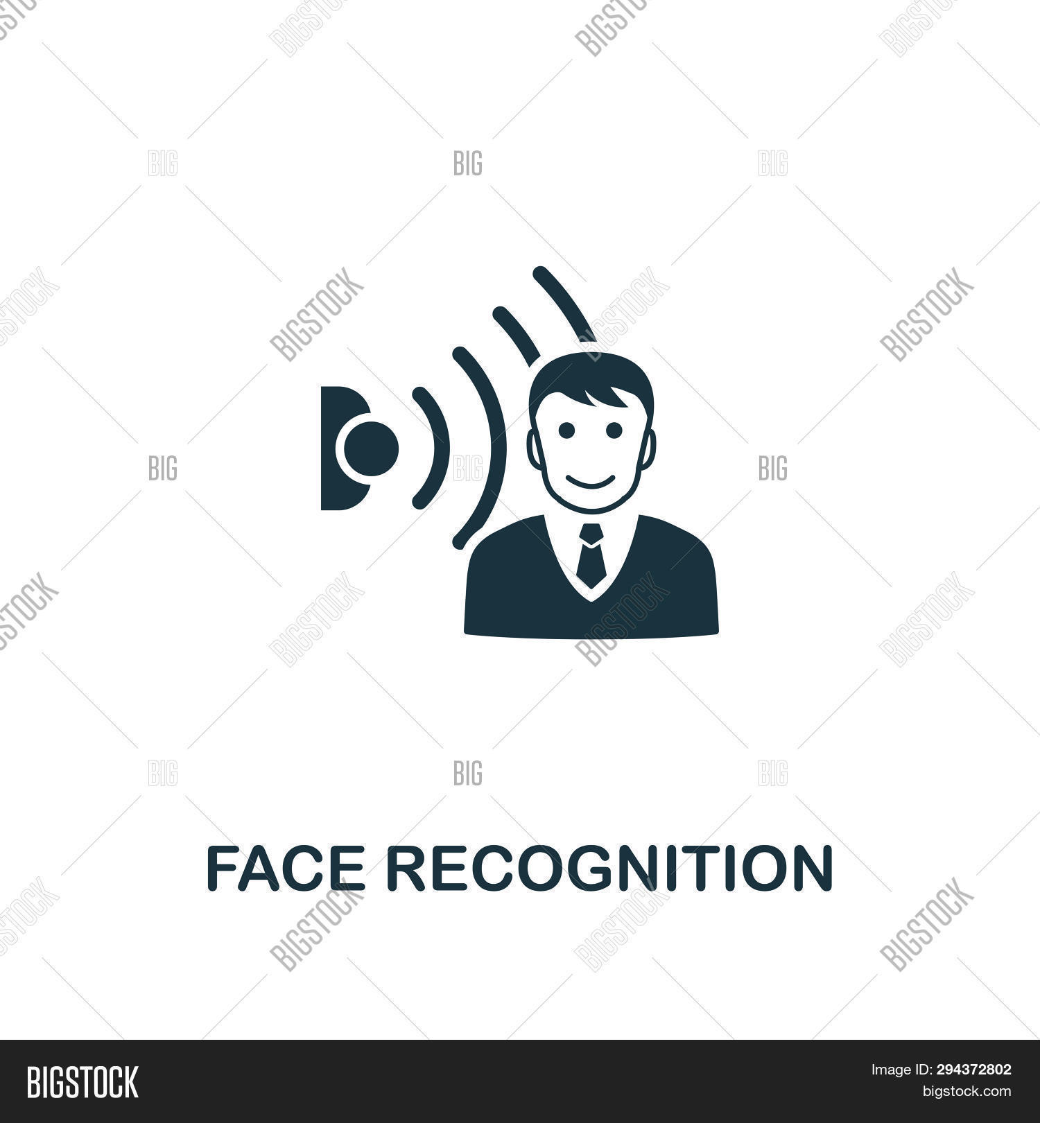 face recognition icon image