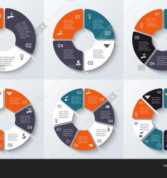 template for cycle diagram graph presentation and round chart business concept 3 4 5 6 7 and 8 with options parts steps or processes  [ 1500 x 1120 Pixel ]