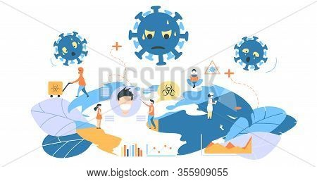 Clipart Corona Virus Clipart Earth With Mask