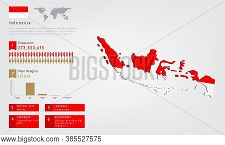 Infographic Indonesia Vector Photo Free Trial Bigstock