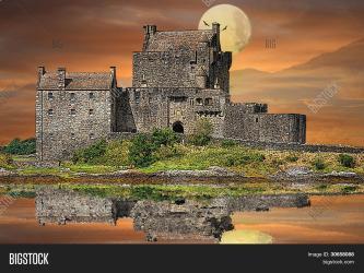 Fantasy Gothic Castle Image & Photo Free Trial Bigstock
