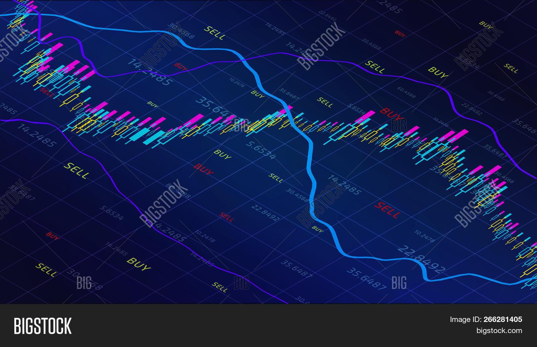 business trade graph vector