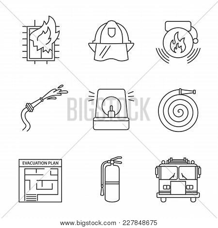 Fire Fighting Drawing Symbols
