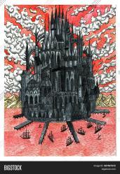 Black Medieval Castle Image & Photo Free Trial Bigstock