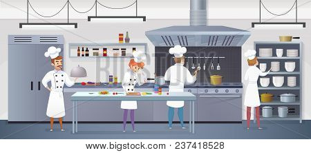 Commercial Kitchen Vector & Photo Free Trial Bigstock