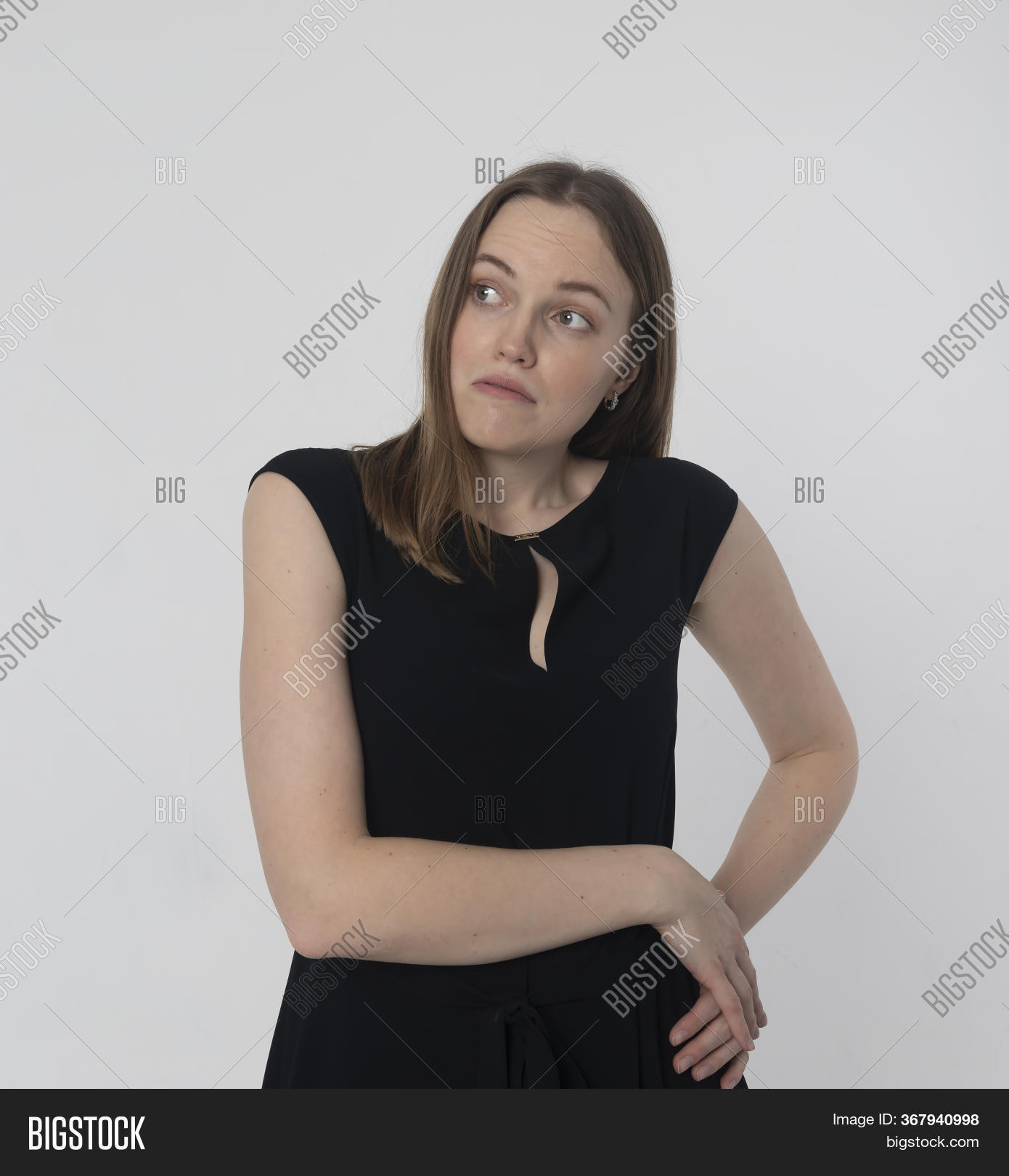 Shy Embarrassed Image & Photo (Free Trial)   Bigstock