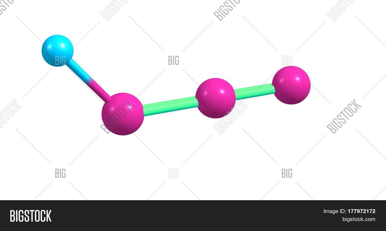 Hydrazoic Acid Hydrogen Azide Image & Photo | Bigstock