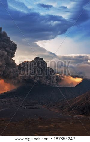 Mount Bromo Volcano Image Photo Free Trial Bigstock