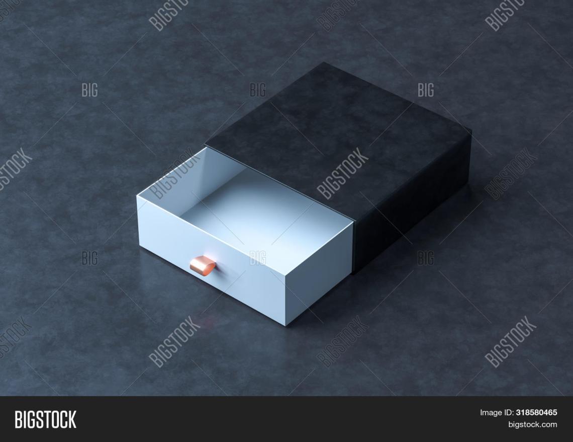 Download Black Box Mockup. Image & Photo (Free Trial) | Bigstock