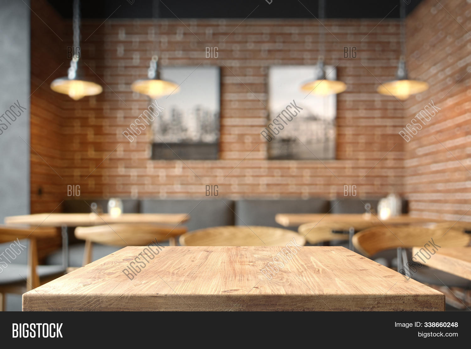 Empty Coffee Table Image Photo Free Trial Bigstock