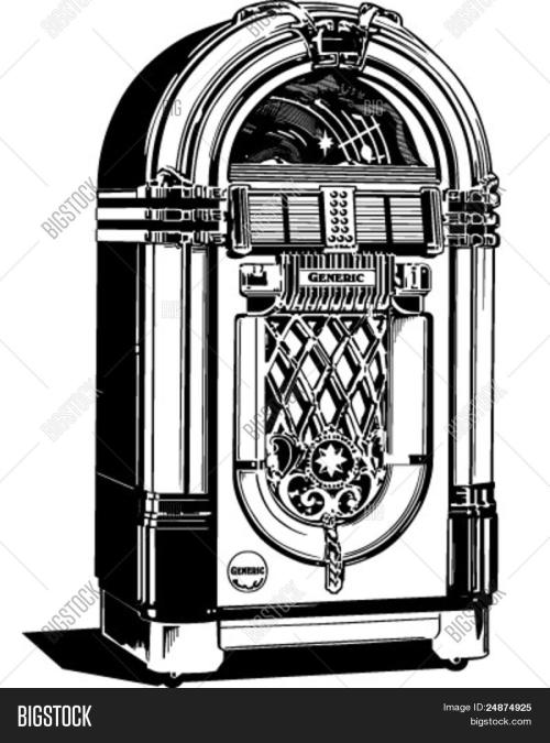 small resolution of jukebox 1 retro clipart illustration