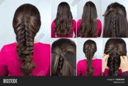 simple hairstyle &