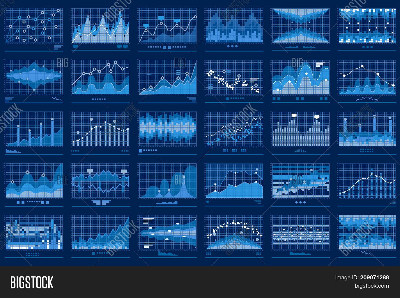 business data report vector