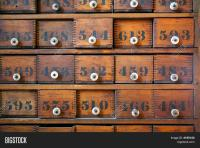 Antique Wooden Medicine Cabinet Image & Photo | Bigstock