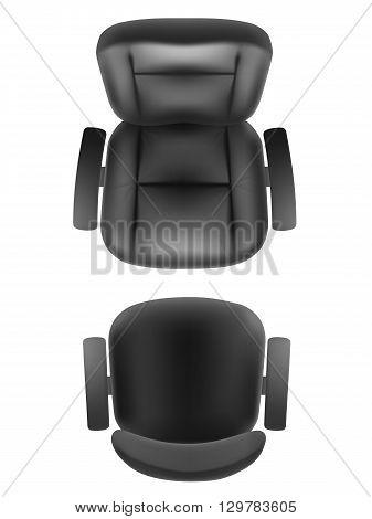 Office Chair Boss Armchair Top Vector Amp Photo Bigstock